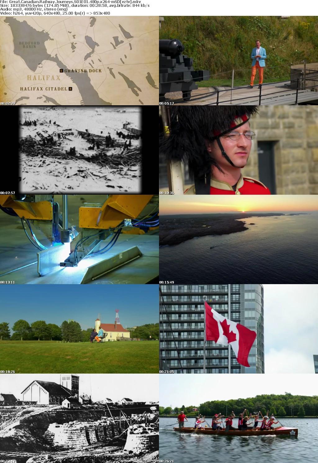 Great Canadian Railway Journeys S01E01 480p x264-mSD