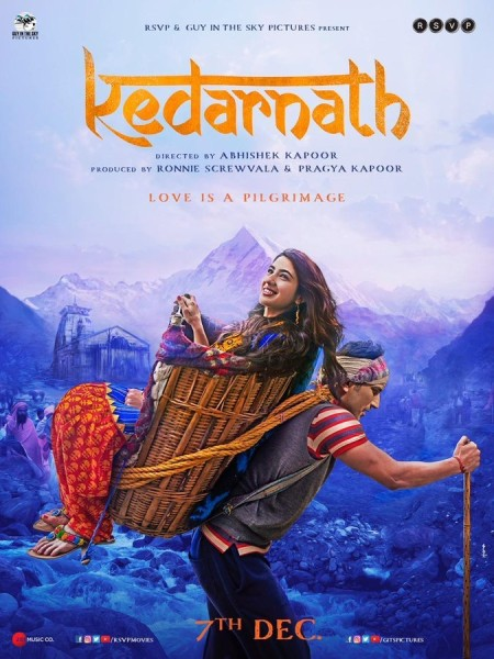 KEDARNATH (2018) Hindi 1080P UNTOUCHED WEB DL - AVC - AAC - DTONE EXCLUSIVE