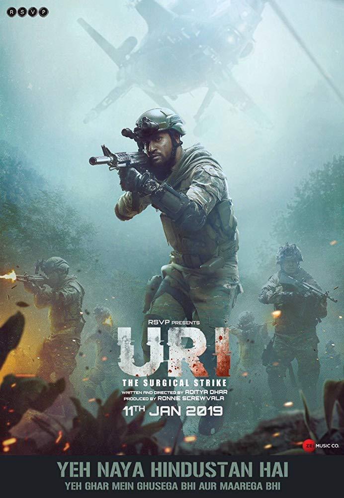 Uri The Surgical Strike 2019 Hindi HDRip x264 AC3-ETRG