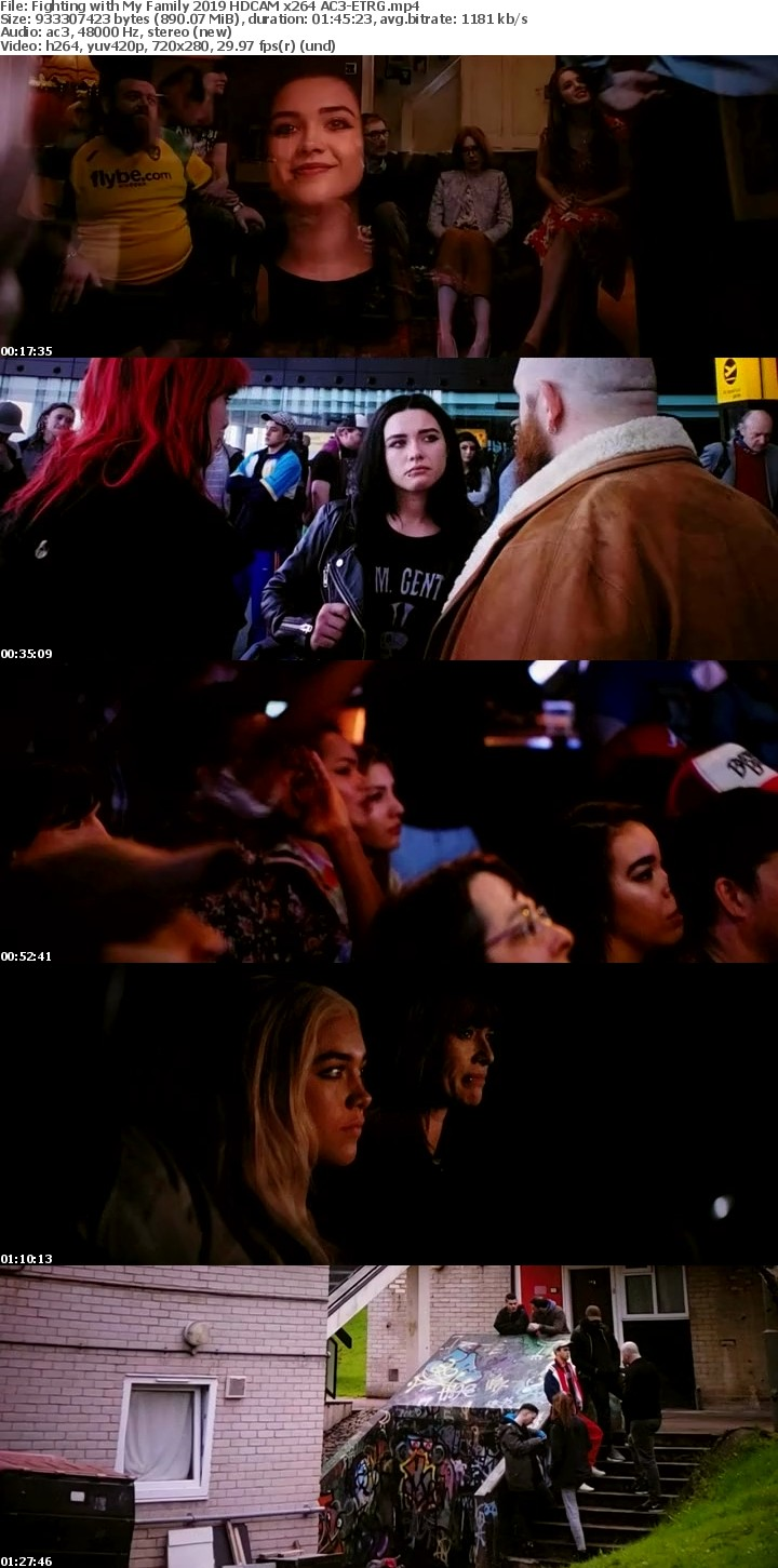 Fighting with My Family 2019 HDCAM x264 AC3-ETRG