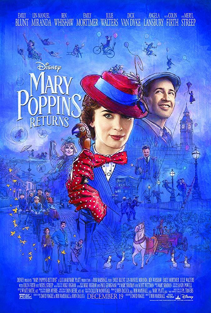 Mary Poppins Returns 2018 720p BluRay HEVC x265-RMTeam