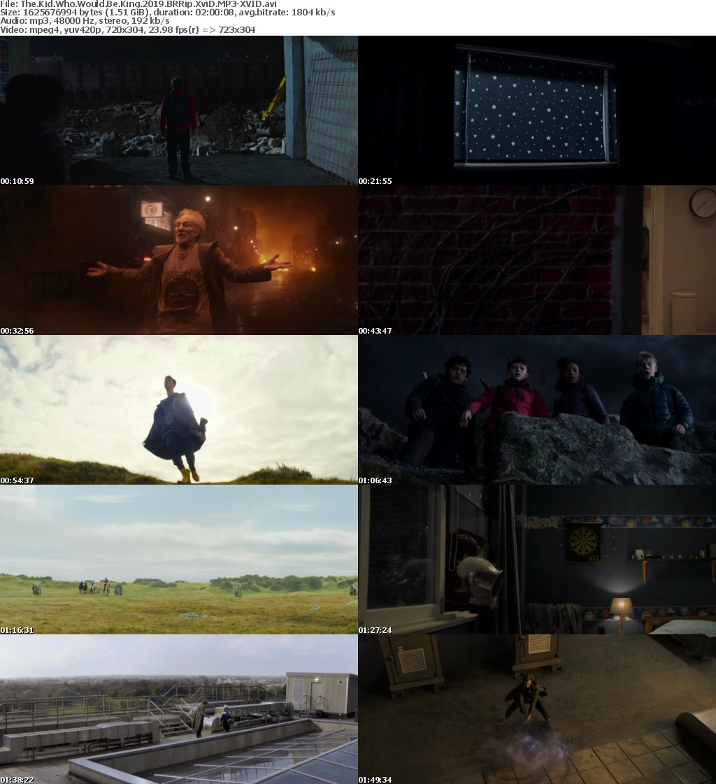The Kid Who Would Be King (2019) BRRip XviD MP3-XVID