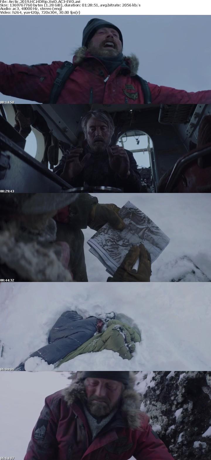 Arctic 2019 HC HDRip XviD AC3-EVO[TGx]