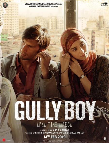 Gully Boy (2019) Hindi - 720p HDRip - x264 - DD 5.1 - ESub -Sun George