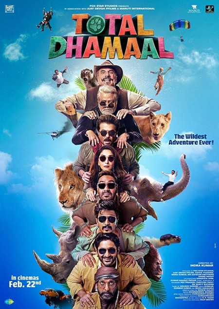 Total Dhamaal (2019) Hindi 720p ORG HDRip x264 AAC -UnknownStAr Telly