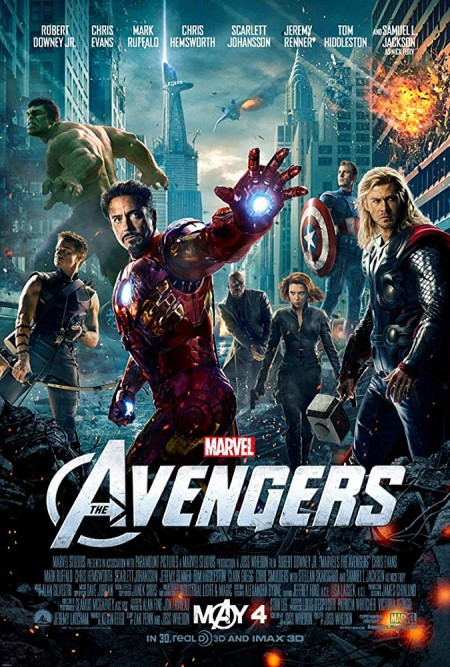 The Avengers 2012 BR EAC3 VFF VFQ ENG 1080p x265 10Bits T0M (Avengers 1, le film)