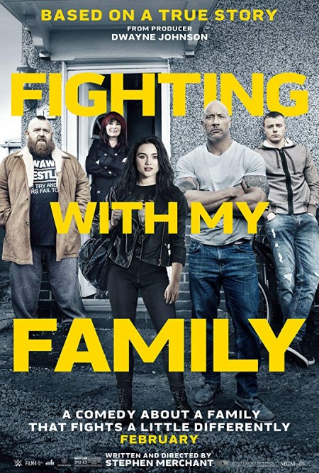 Fighting with My Family 2019 BRRip XviD AC3-EVO