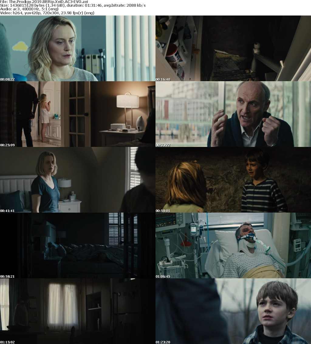 The Prodigy (2019) BRRip XviD AC3-EVO