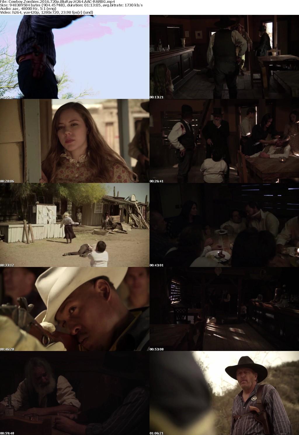 Cowboy Zombies (2016) 720p BluRay H264 AAC-RARBG