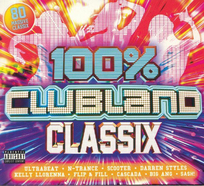VA - 100% Clubland Classix [4CD] (2019) Mp3 320kbps Quality Album [PMEDIA]