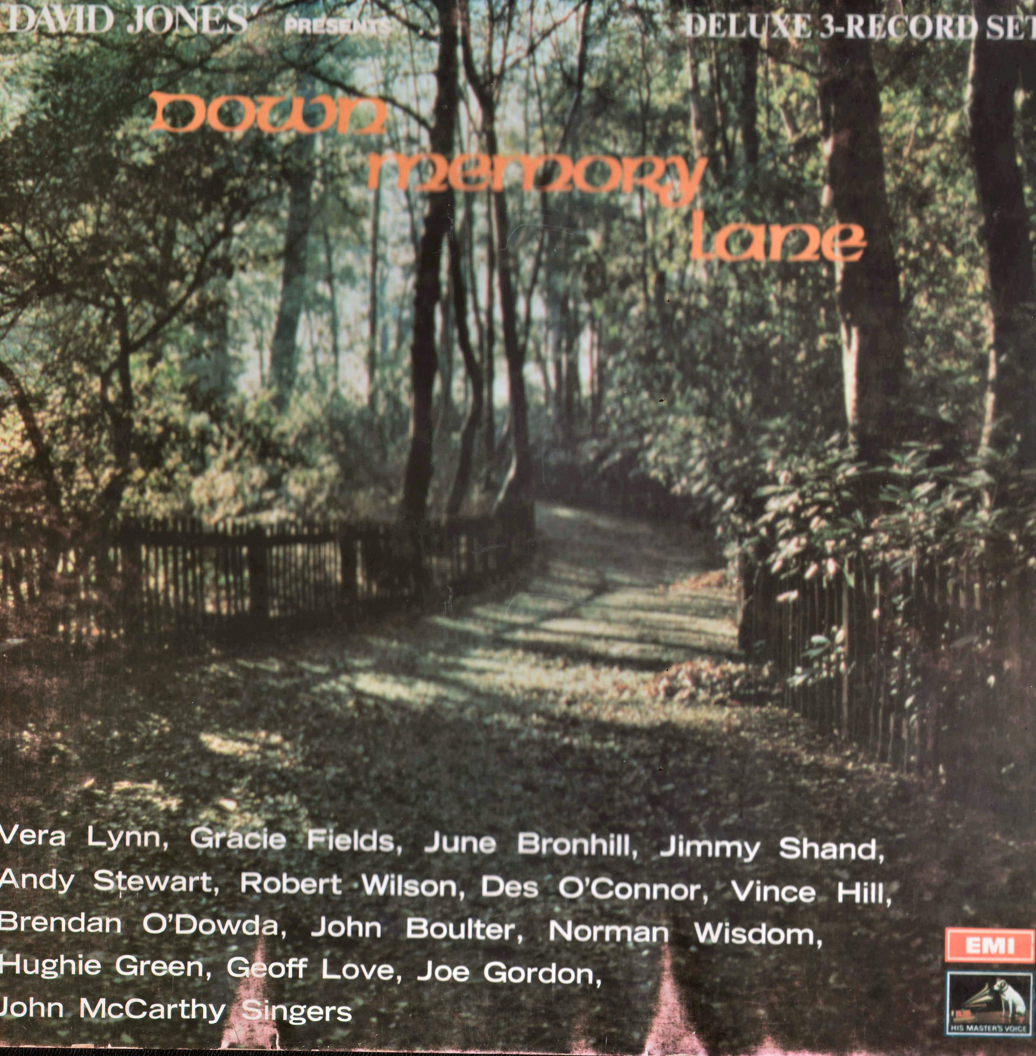 Down Memory Lane - 47 Wonderful Memories - Rare LP Source