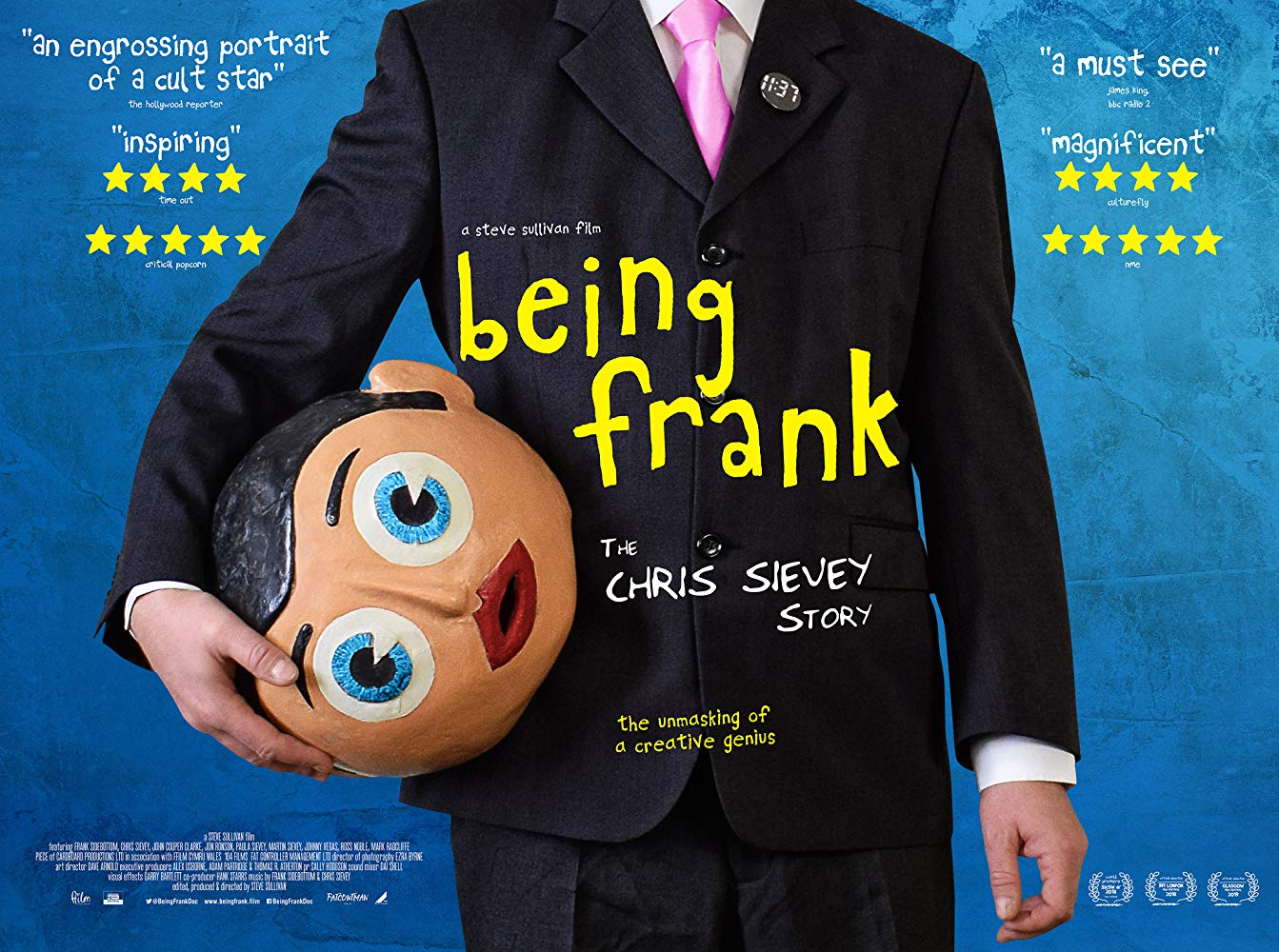 Being Frank The Chris Sievey Story 2018 BRRip XviD AC3-XVID