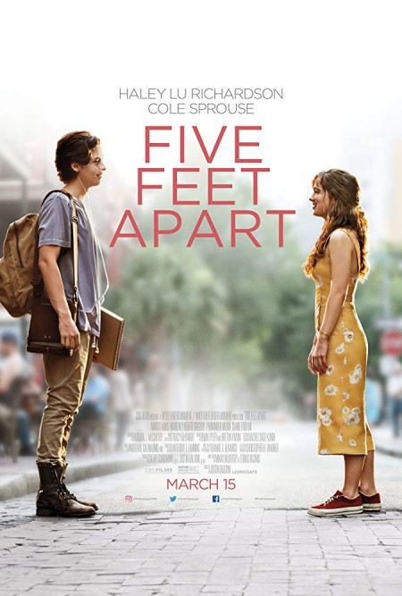 Five Feet Apart 2019 HDRip AC3 X264-CMRG