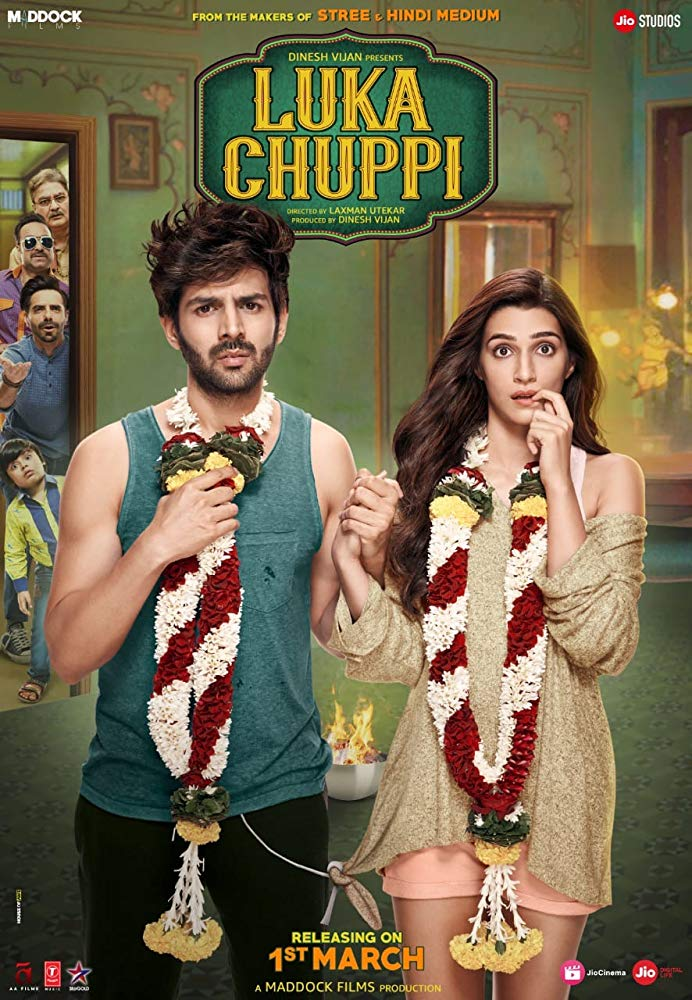 Luka Chuppi 2019 WebRip Hindi 720p x264 AAC ESub - mkvCinemas [Telly]
