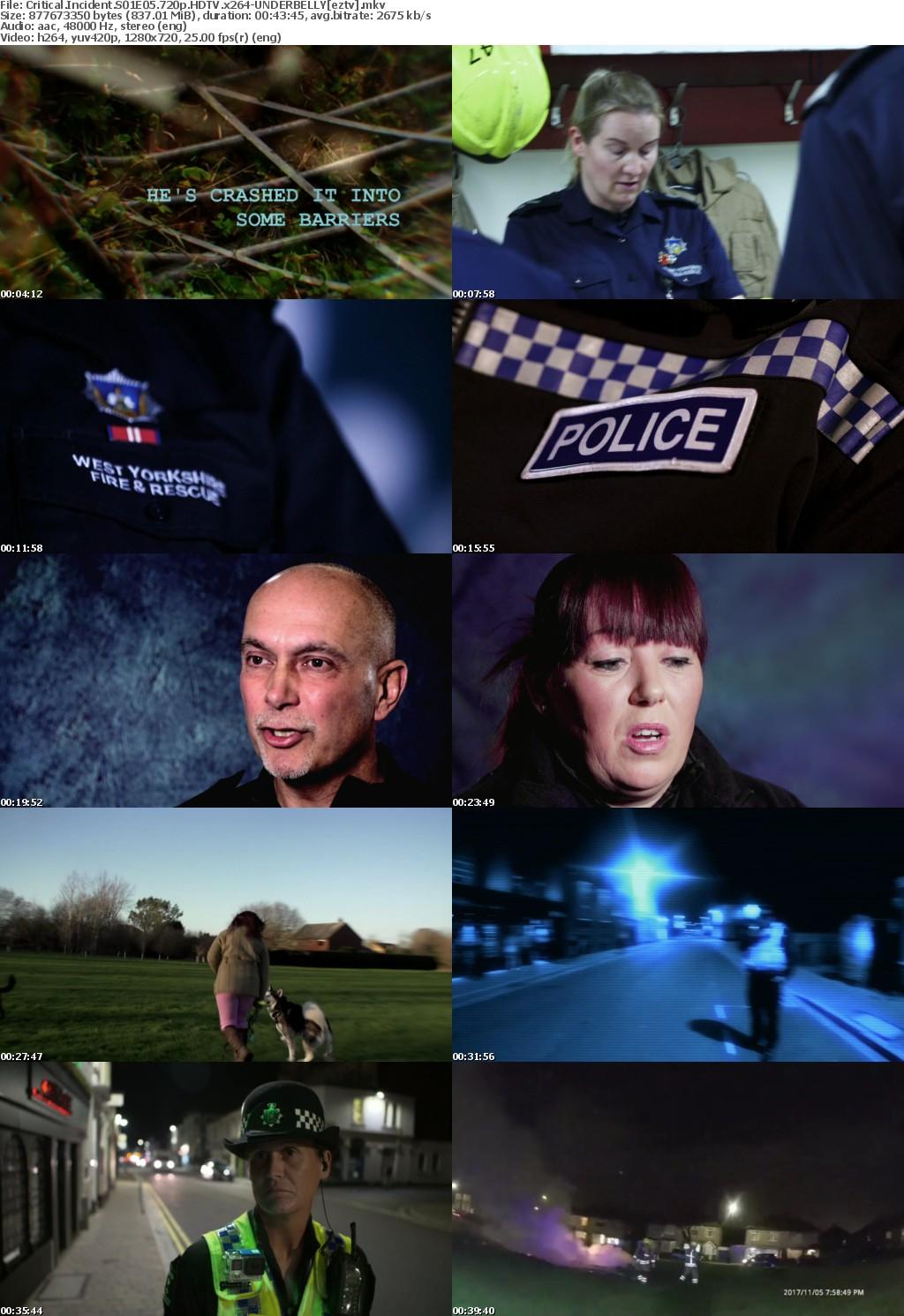Critical Incident S01E05 720p HDTV x264-UNDERBELLY