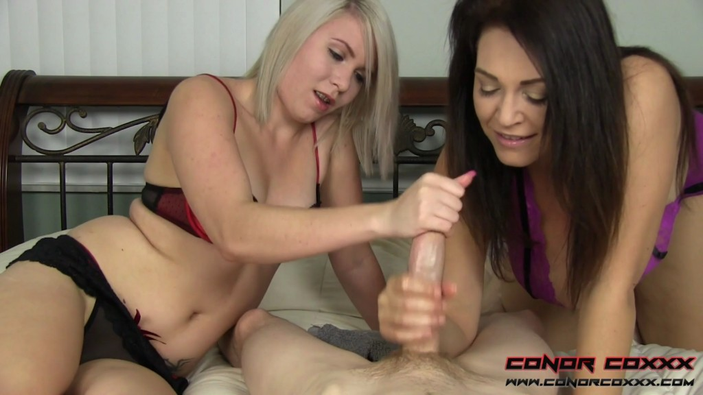 ConorCoxxx 19 06 15 Charlee Chase And Olivia Kasady Two Hands Are Better XXX 1080p MP4-KTR