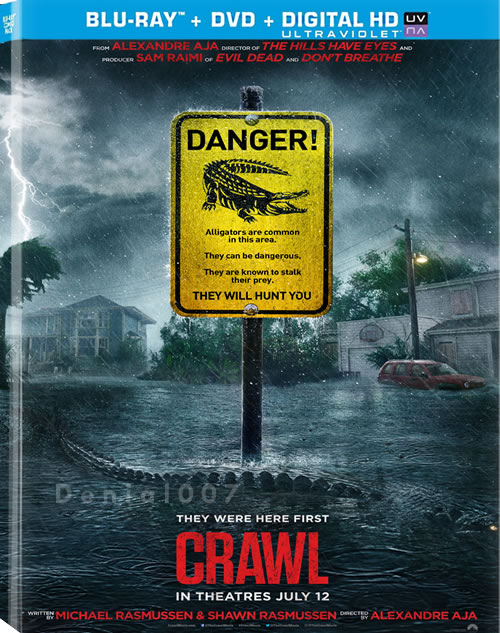 Crawl (2019) 1080p BluRay 10bit HEVC Hindi English x265 DD 5.1 MSubs - LOKiHD - Telly