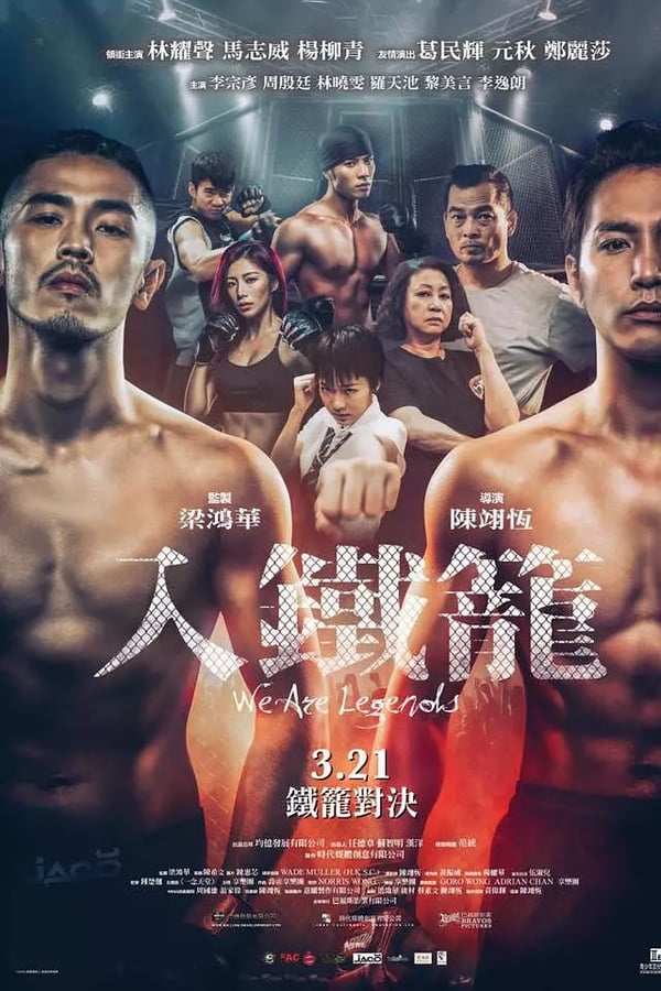 We Are Legends 2019 CHINESE 720p BluRay H264 AAC-VXT