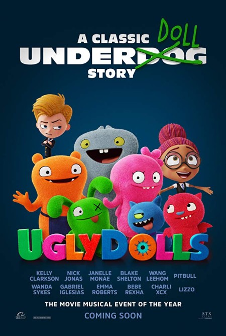 UglyDolls (2019) 720p BluRay 800MB x264 GalaxyRG