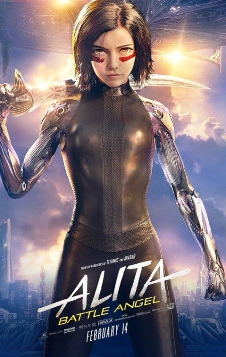 Alita Battle Angel (2019) 1080p BRRip Dual Audio Org BD Hindi Eng 6Ch-DOOMSDAY