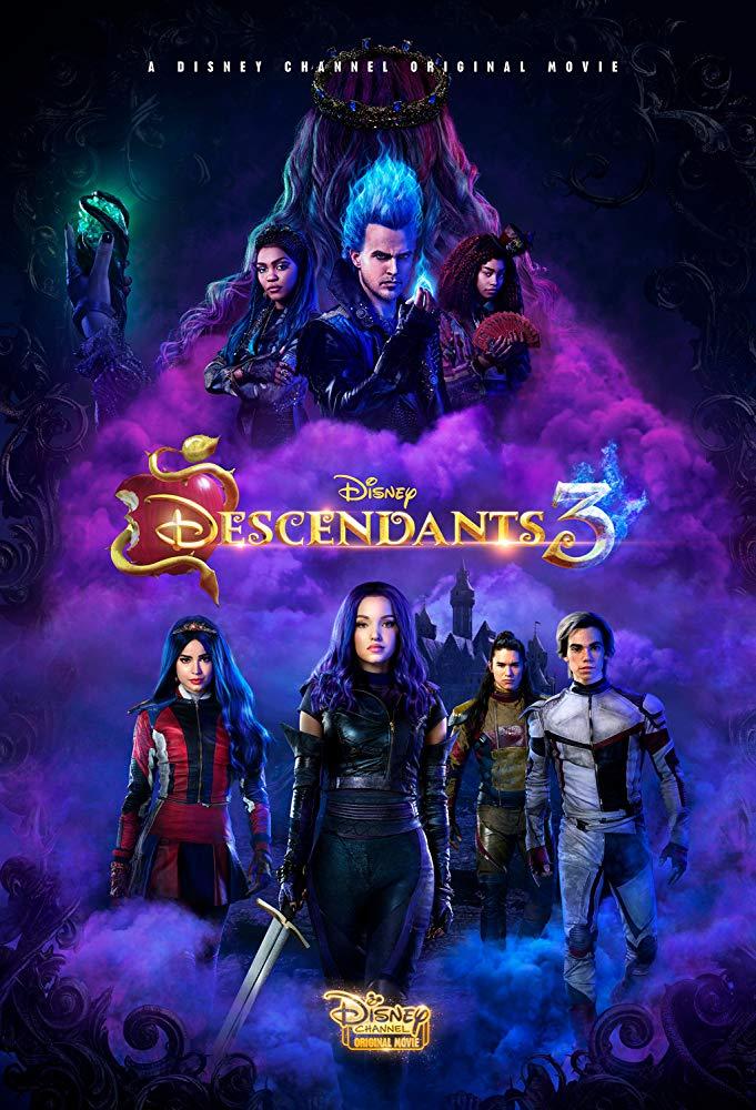 Descendants 3 2019 DVDRip XviD AC3-EVO[EtMovies]