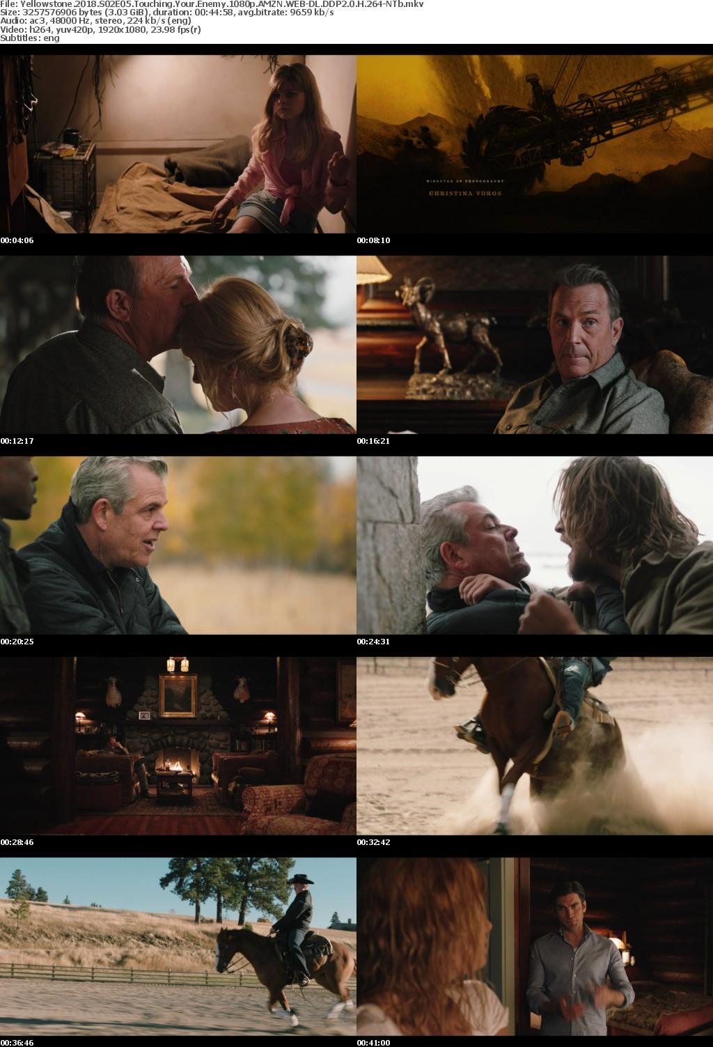 Yellowstone 2018 S02E05 Touching Your Enemy 1080p AMZN WEB-DL DDP2 0 H 264-NTb