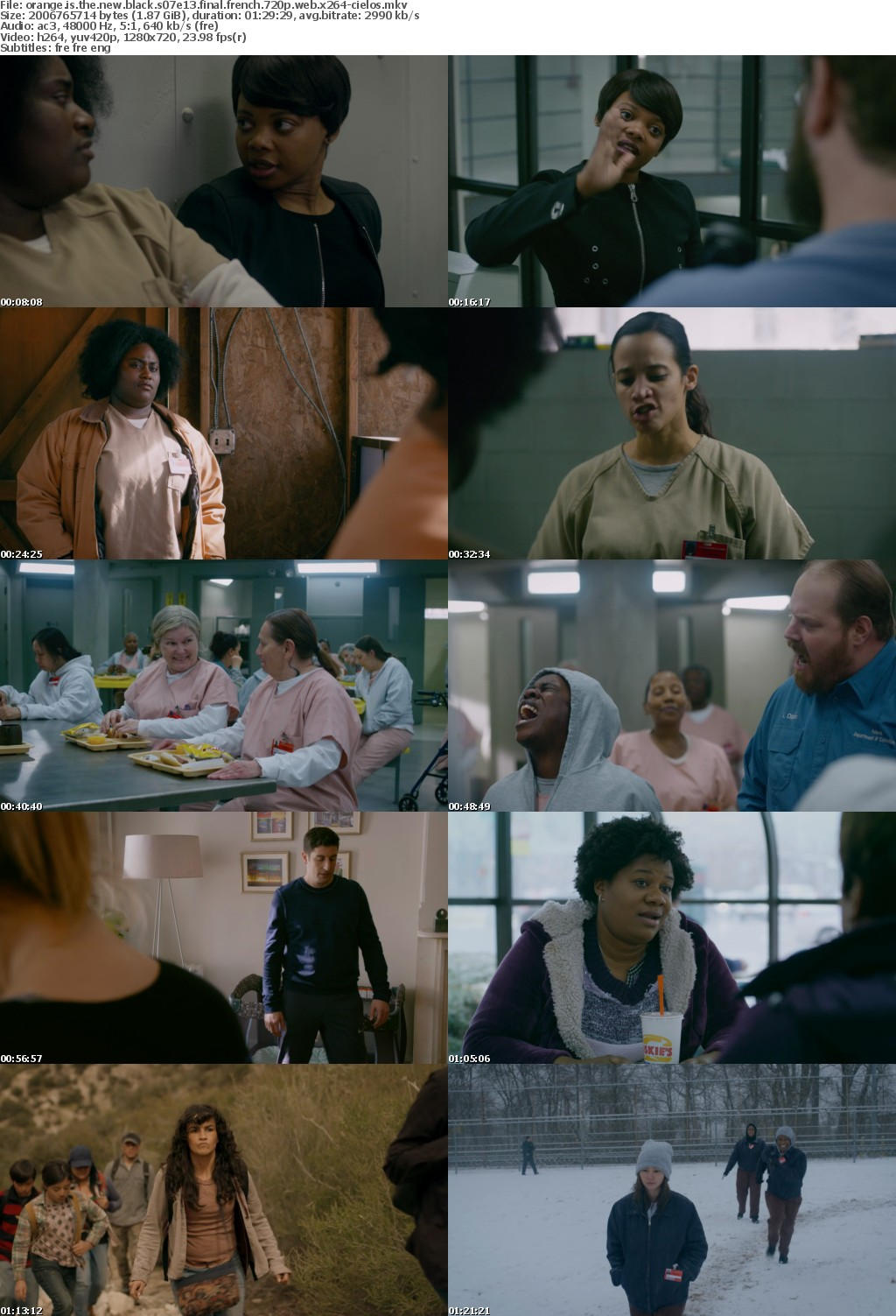 Orange Is the New Black S07E13 FiNAL FRENCH 720p WEB x264-CiELOS