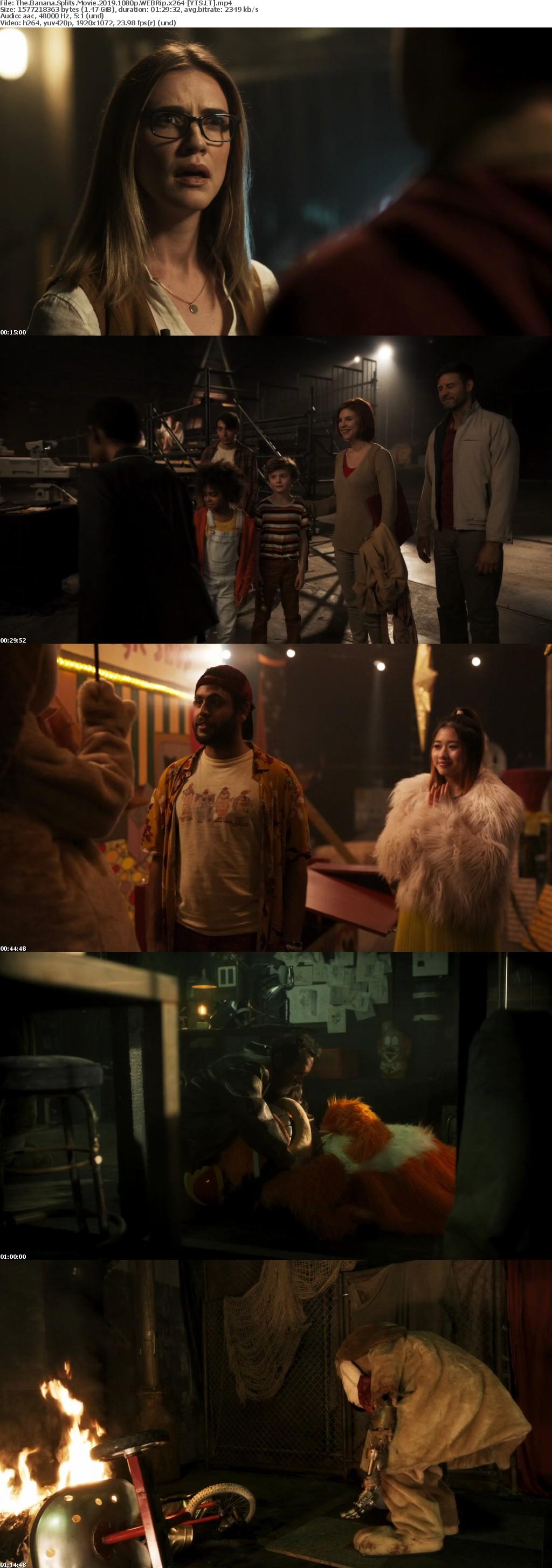 The Banana Splits Movie 2019 [WEBRip] [1080p] YIFY