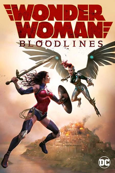 Wonder Woman Bloodlines 2019 720p WEBRip 800MB x264 GalaxyRG