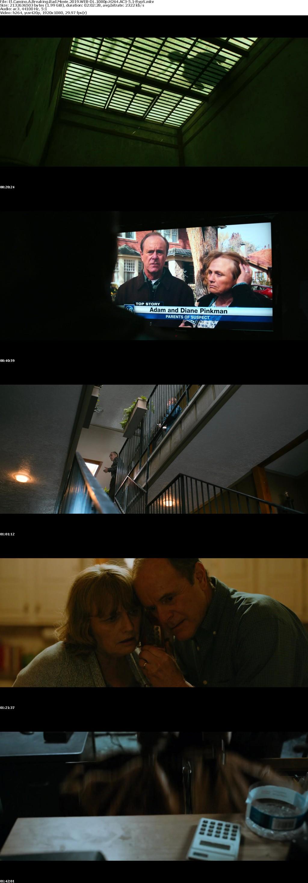 El Camino A Breaking Bad Movie 2019 WEB-DL 1080p H264 AC3-5 1-RypS