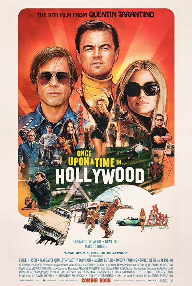 Once Upon A Time In Hollywood 2019 1080p HDRip X264 AC3-EVO