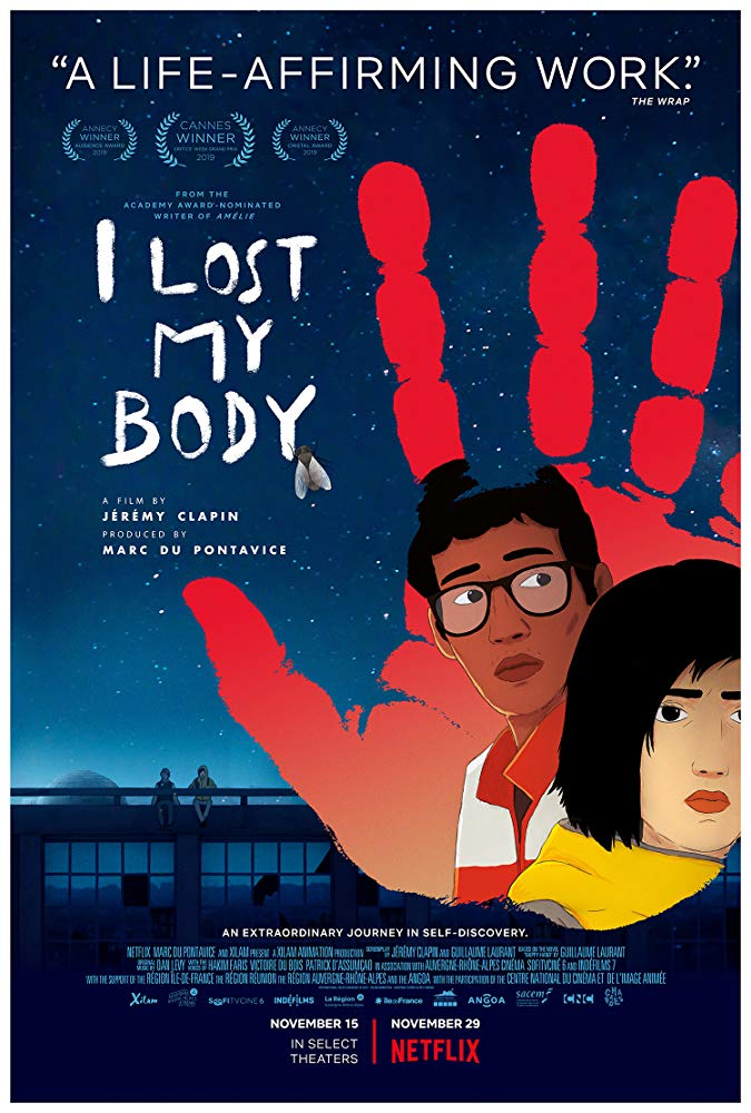 I Lost My Body 2019 720p WEBRip 800MB x264-GalaxyRG