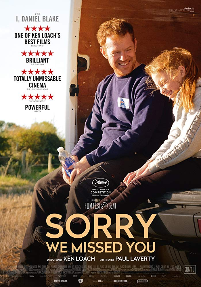 Sorry We Missed You 2019 [WEBRip] [1080p] YIFY