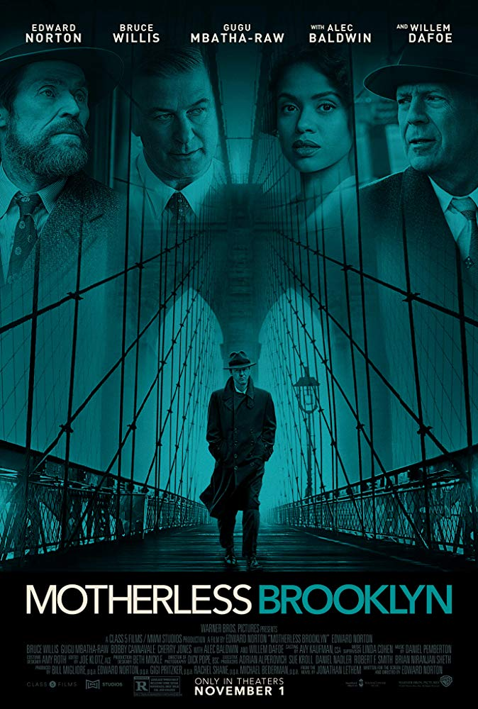 Motherless Brooklyn 2019 720p BRRip X264 AC3-EVO