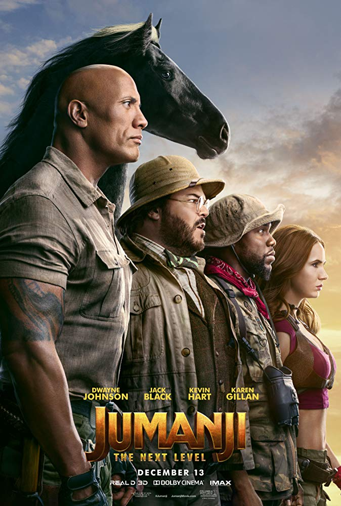 Jumanji - The Next Level 2019 (1080p Webrip x265 10bit AC3 5 1 - ArcX)[TAoE]