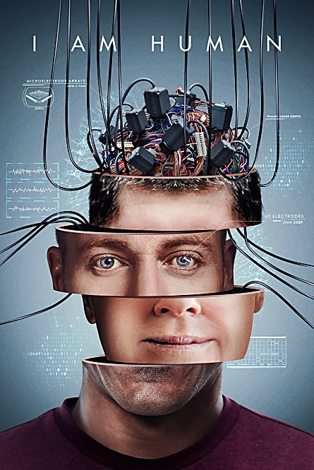 I Am Human (2019) 720p AMZN WEBRip 800MB x264-GalaxyRG