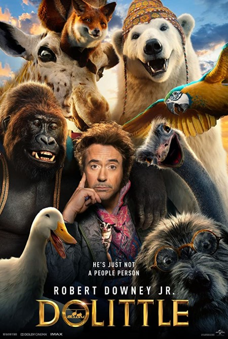 Dolittle (2020) 1080p BluRay 1400MB DD5.1 x264-GalaxyRG