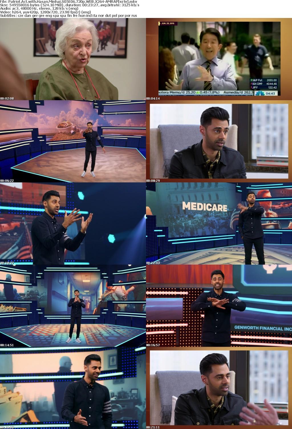 Patriot Act with Hasan Minhaj S05E06 720p WEB X264-AMRAP