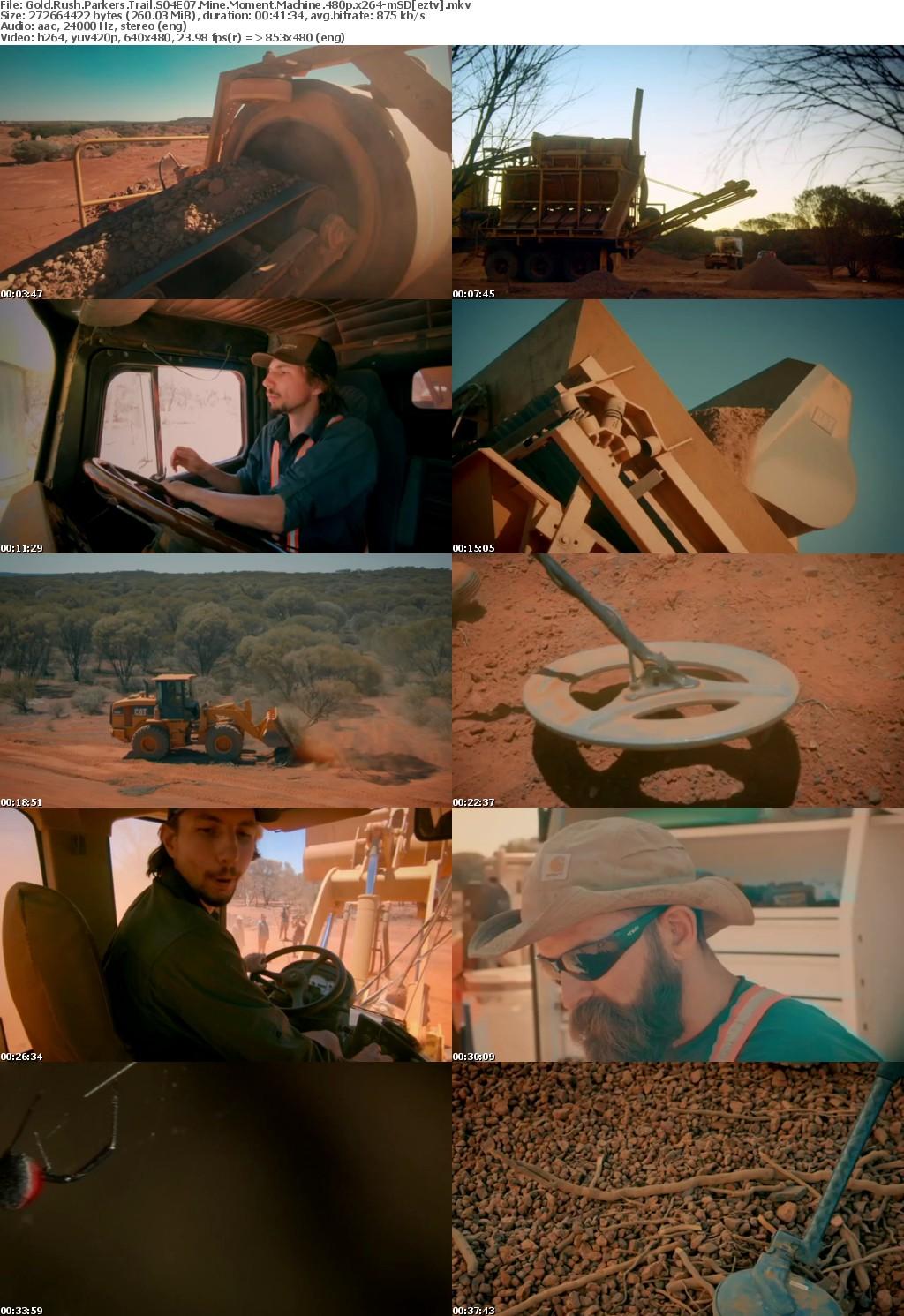 Gold Rush Parkers Trail S04E07 Mine Moment Machine 480p x264-mSD