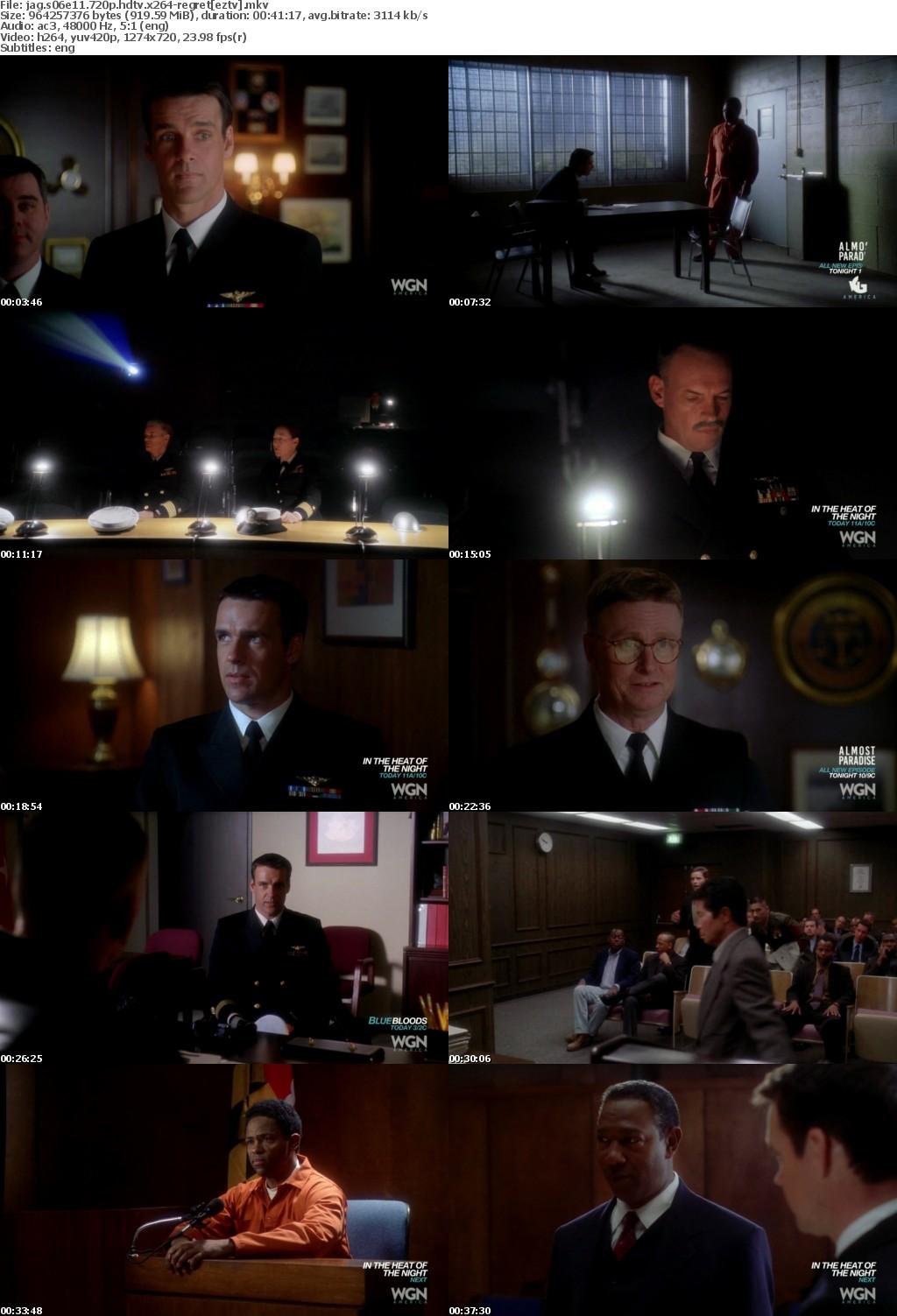 JAG S06E11 720p HDTV x264-REGRET