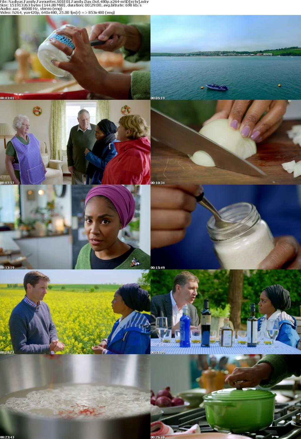 Nadiyas Family Favourites S01E01 Family Day Out 480p x264-mSD