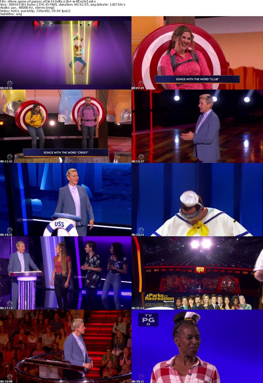 Ellens Game of Games S03E14 HDTV x264-W4F