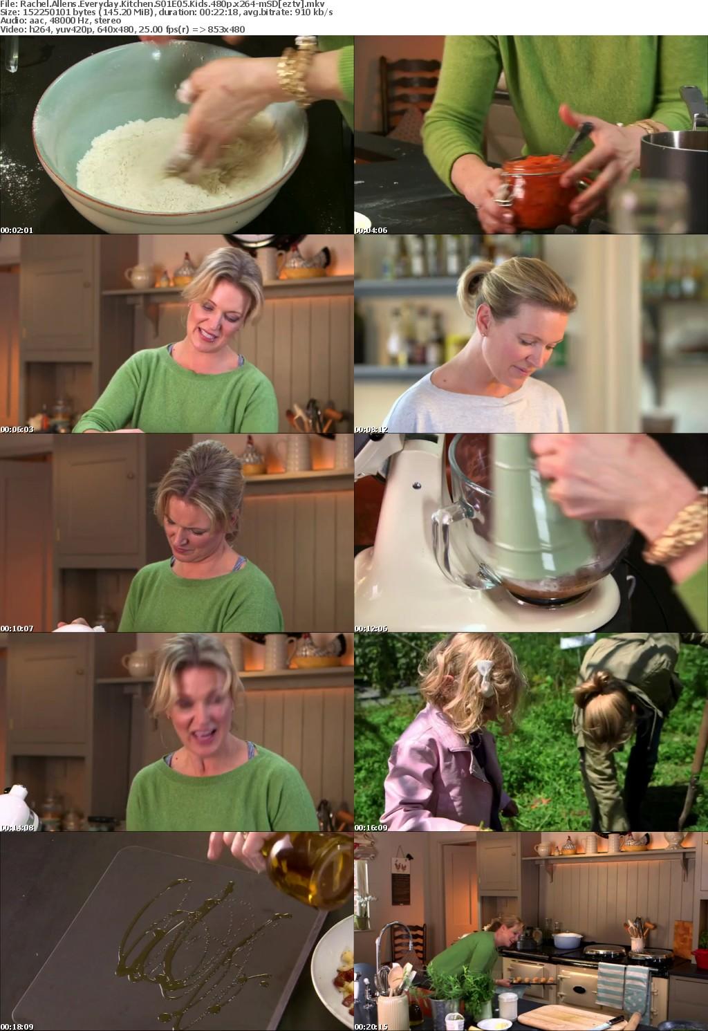 Rachel Allens Everyday Kitchen S01E05 Kids 480p x264-mSD