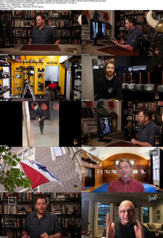 Expedition Unknown S09E00 Josh Gates Tonight-Exploration Home Office HDTV x264-W4F