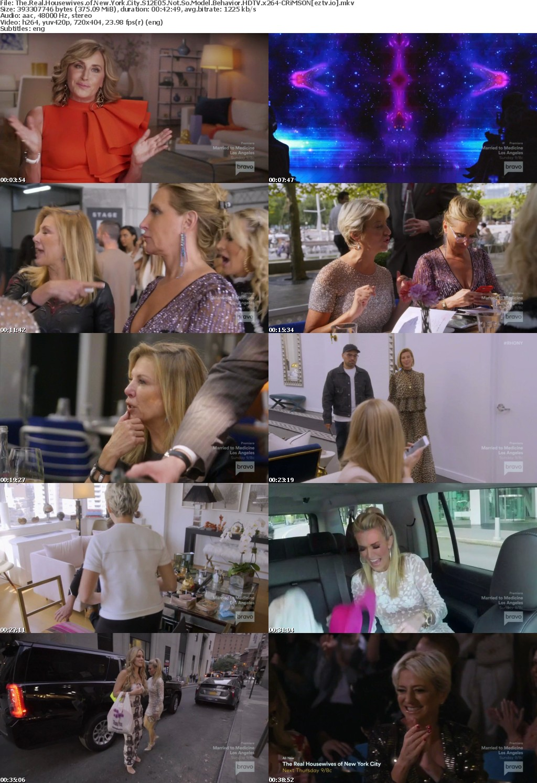 The Real Housewives of New York City S12E05 Not So Model Behavior HDTV x264-CRiMSON