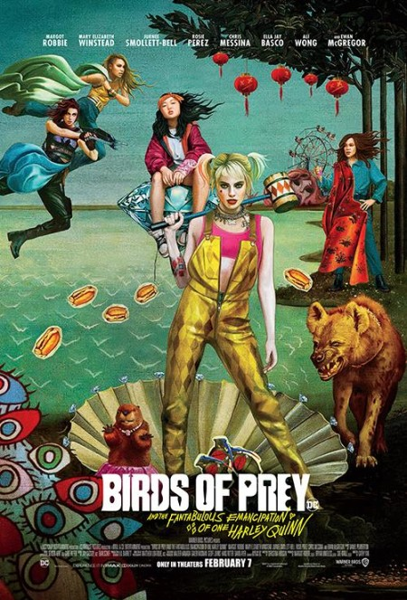 Birds of Prey And the Fantabulous Emancipation of One Harley Quinn 2020 720p BluRay 800MB x264-GalaxyRG