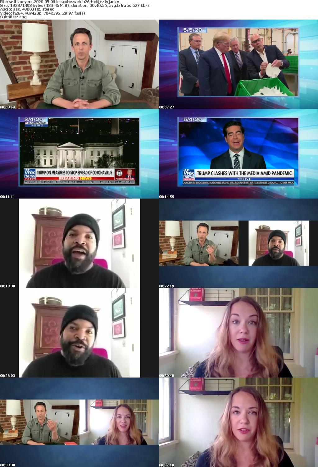 Seth Meyers 2020 05 06 Ice Cube WEB H264-XLF