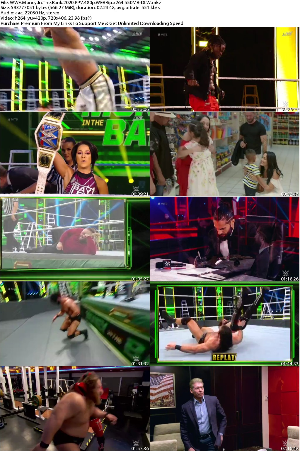 WWE Money In The Bank 2020 PPV 480p WEBRip x264 550MB-DLW