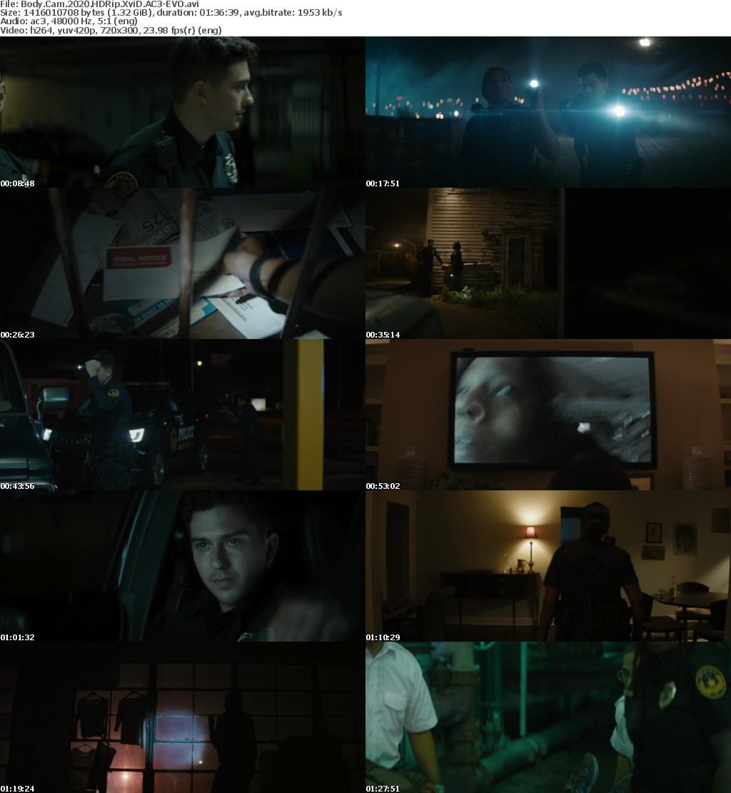 Body Cam (2020) HDRip XviD AC3-EVO