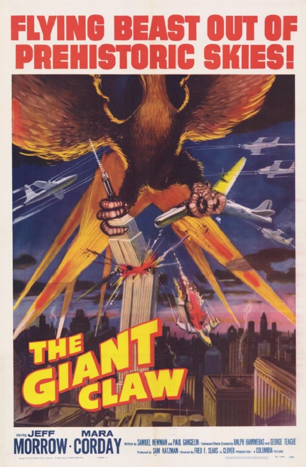 The Giant Claw (1957) [720p] [BluRay] [YTS MX]